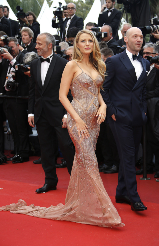 Blake Lively was one of the dazzling stars who attended the launch of this year's Cannes film festival.