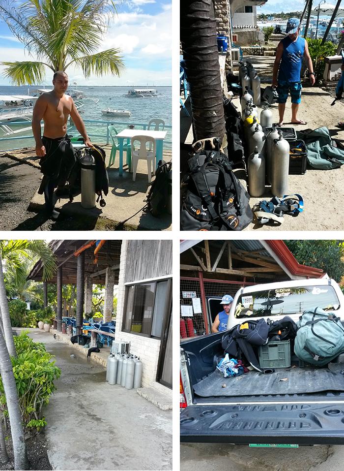 Diving in Palawan